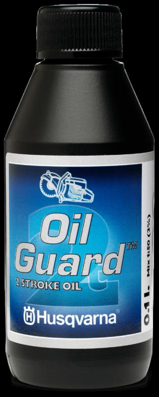 Huile 2-temps Husqvarna, protège huile